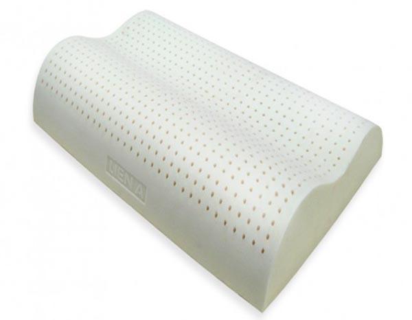 GỐI CAO SU CONTOUR LIÊN Á 44X63cm(chống ngáy)